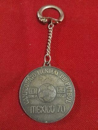 Llavero del mundial de México 70