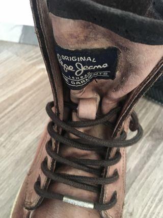 Botines piel Pepe Jeans chico 41