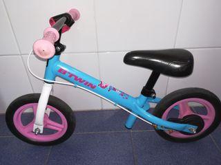 Bici sin pedales. BTwin runride 500.