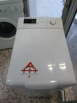 lavadora hoover 7kg carga superior