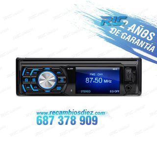 "RADIO 1DIN CON PANTALLA DE 3"" HD USB SD"