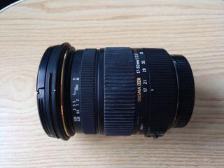 Sigma 17-50 2.8 para Canon
