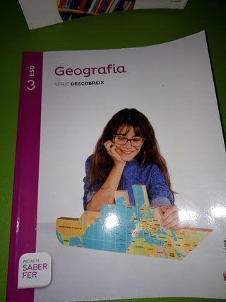 libros de 3º de eso: geografía y castellano