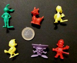 Lote 6 figuras PVC Warner Bros