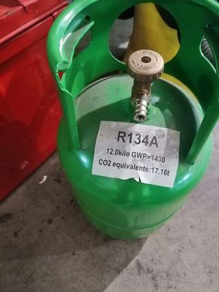 botella gas r134 vacia