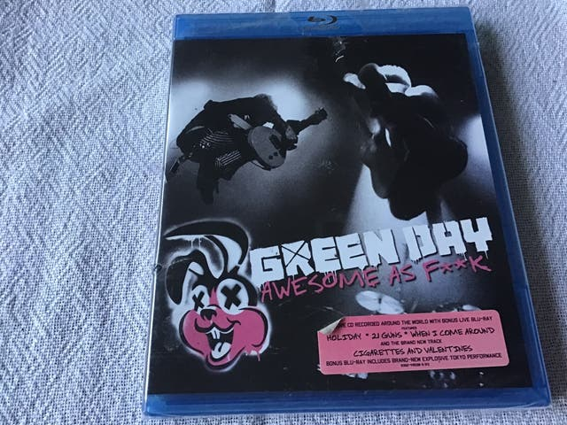 GREEN DAY AWESOME AS F**K BLU-RAY DISC
