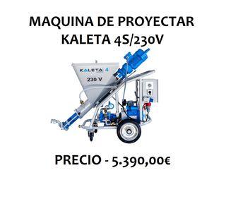 MAQUINA DE PROYECTAR KALETA 4S/230V.