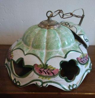 Lámpara de techo de cerámica esmaltada
