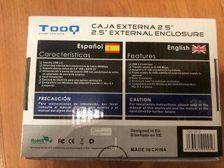 Caja externa para disco duro 2,5