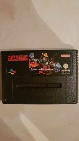 killer instict super Nintendo