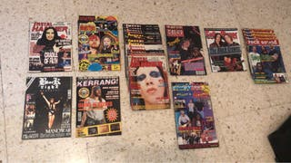 Colección de revistas ( HEAVY )