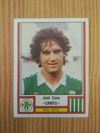 Panini Fútbol 83 Cromo #67 Canito - Real Betis