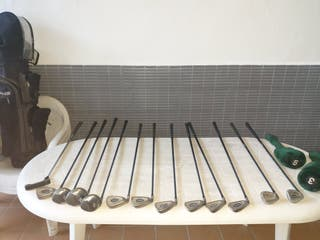 palos de golf marca forgan para zurdos