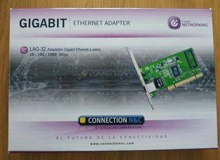 Adaptador tarjeta de red / Ethernet -Gigabit