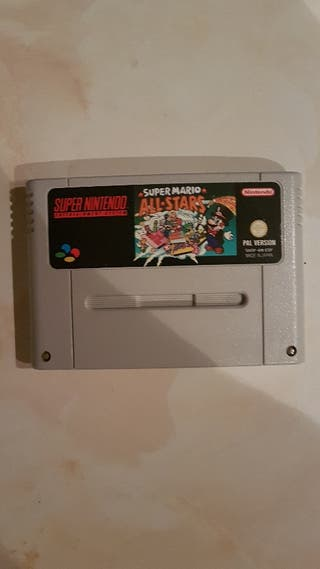 super Mario all stars (super Nintendo)