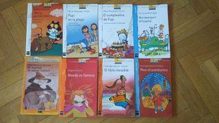 Libros colección El Barco de Vapor