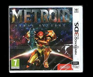 Metroid Seamus Return 3DS precintado