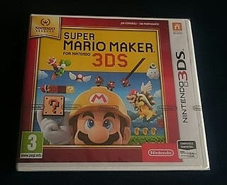 Super Mario Maker 3DS precintado