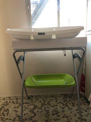 Cambiador bañera