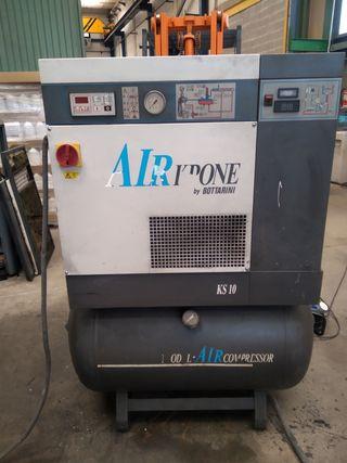 compresor de tornillo insonorizado industrial