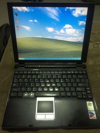 Portátil Toshiba portege antiguo