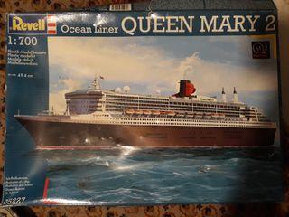 Maqueta barco QUEEN MARY 2
