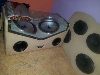 equipo de sonido para coche
