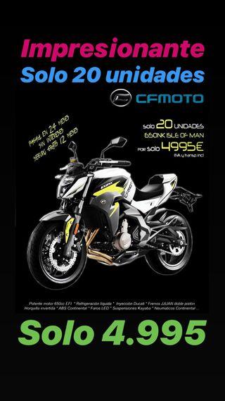 CfMoto 650 NK