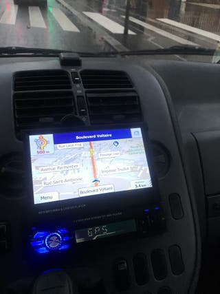 Radio pantalla tactil gps 1 din