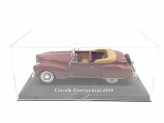 Modelismo coche lincoln continental 1939