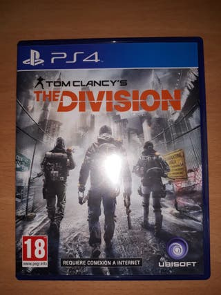 videojuego ps4. The division