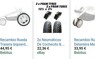 ruedas carrito quinnie