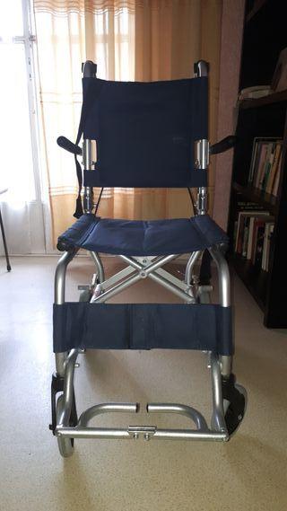 Sillas de ruedas ligeras de segunda mano en wallapop for Silla de ruedas de segunda