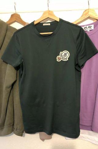 Moncler Maglia Double Logo T Shirt