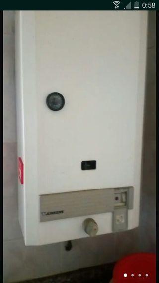 Se recojen termos de gas a domicilios