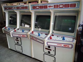 Recreativa arcade boss blanco clasico