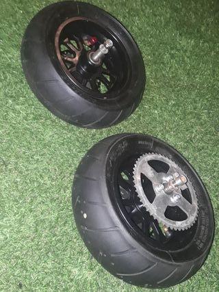 ruedas de patinete