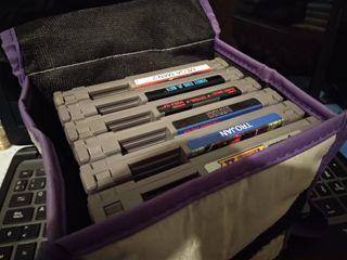 Cartuchos lote pack juegos Nintendo NES.
