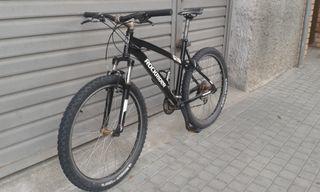 Bicicleta de montaña Rockrider 5.2 MODIFICADA
