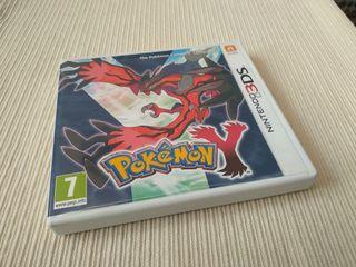 Pokémon Y. Nintendo 3ds/2ds XL.