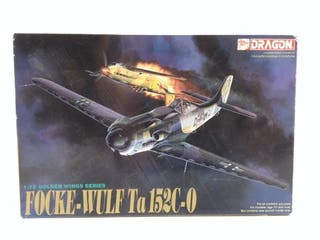 Modelismo avion dragon focke wulf