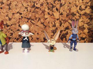 Lote Figuras Zootropolis