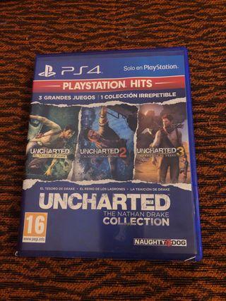 Juego uncharted 3 en 1