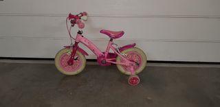 Bicicleta niña rosa