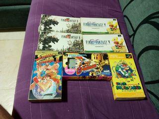 Juegos de Nintendo Super Famicom