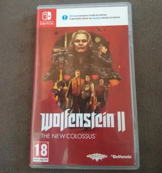 Nintendo Switch Wolfenstein 2