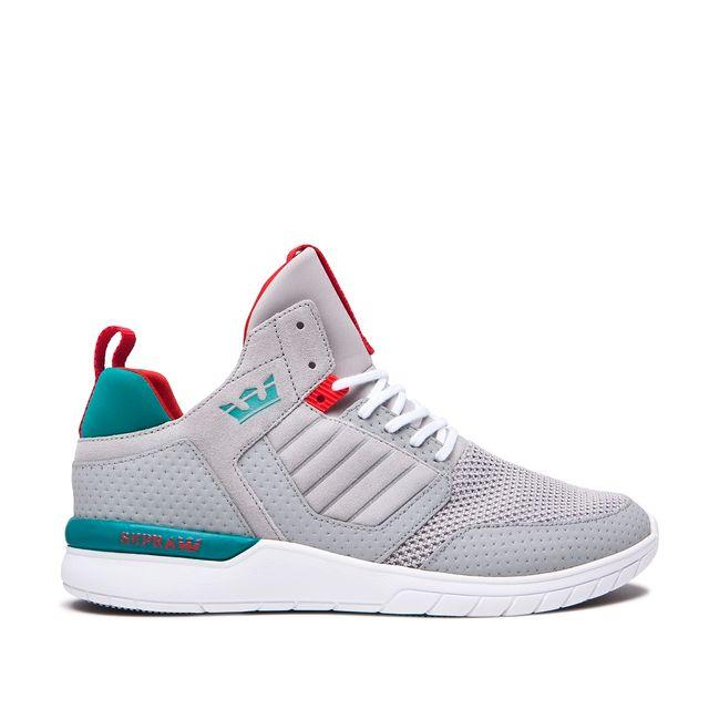 9b194b17a7 Zapatillas nuevas, sin estrenar de Supra. Modelo METHOD LT GREY/TEAL-WHITE.  Talla 45 española (10uk/11us) tags: Nike, Adidas, fila, Champion, sudadera,  ...