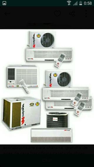 Recojemos aires acondicionado de todo tipo