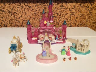 Castillo cenicienta Polly Pocket Completo.