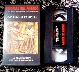 La maldición de los Faraones. VHS